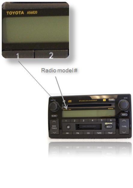 2009 toyota camry radio code