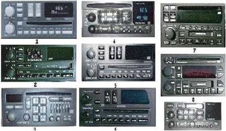 Your Radio May Look Like One Or More Of The Following Units A Similar Version Vary From Model To Not Be Pictured Here