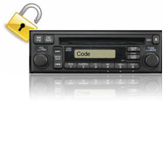 Radio unlock codes (car radio)